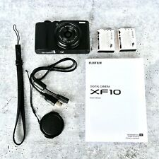 Fujifilm XF10 Digital Camera BLACK - Box + Manuals + Extra Battery $495