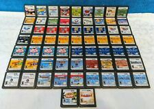 65 Nintendo DS Game Cartridges Lot - Tested & Working