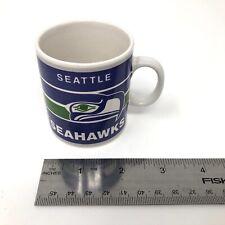 Vintage Mini Seattle Seahawks NFL Ceramic Coffee Mug Tea Cup Papel