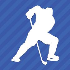 Hockey Player Vinyl Decal Sticker