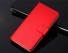 Genuine Leather Wallet Case Cover For Nokia 2.1 3.1 5.1 Lumia 520 535 640 950 XL