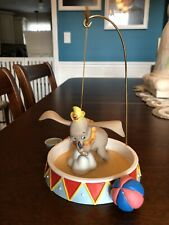 """WDCC Dumbo """"When I See An Elephant Fly"""" & Promotional Set Circus Ring Plus Bonus"""