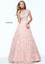 d27e27a25965 Sherri Hill 51010 Blush Pink Pageant Couture Ball Gown Dress sz 8