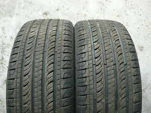 2x TYRES GOLDWAY A320 205 45 17 7+mm FITTING AVAILABLE TESTED P744