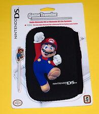 Nintendo DS/DSi neoprene pouch & stylus - BRAND NEW Super Mario BLACK