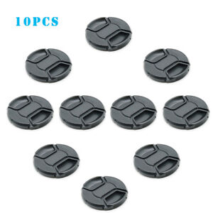 10x 49mm Snap-on Front Lens Cap For Camera Sony Nikon Panasonic Canon Olympus
