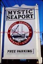 Lot of SEVEN 1971 Connecticut Mystic Seaport 35mm Slides cvX3-9
