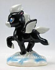 Disney Fantasia Baby Black Pegasus Ceramic Porcelain Figurine Vintage Japan RARE
