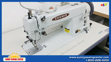 CONSEW 205RB-1 Top and Bottom Feed Walking Foot Leather Sewing Machine - NEW