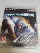 PS3 Metal Gear Rising Revengeance new pal france