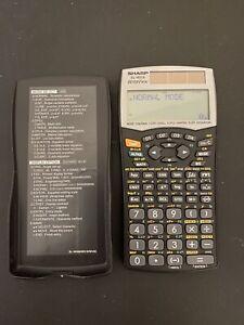 Sharp ELW516 Scientific Calculator W/Cover