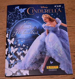 Panini Disney Cinderella Sammelsticker Sticker Leeralbum Sammelalbum Album