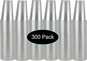 7 oz Clear Plastic Disposable Drinking Cups 300 count