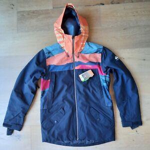 Quiksilver TR Ambition Snowboard Jacket Ski Parka 10K Waterproof Dry Flight M NW