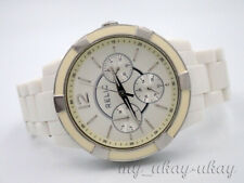 RELIC by Fossil ZR15699 Multifunction White Acrylic Band Ladies Watch