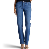 Women's Lee Relaxed Straight Leg Jeans Meridian Blue Size 6