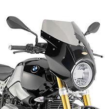 GIVI A800N+A5115A CUPOLINO FUME' CON CARENATURA IN VETRORESINA BMW R NINE T 2014