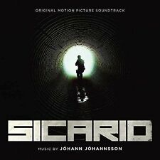 1 CENT CD Sicario [SOUNDTRACK] johann johannsson
