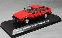 Kyosho Toyota Sprinter Trueno (Corolla AE86) GT Apex  in Red 03891R 1/43 NEW