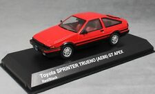 Kyosho Toyota Sprinter Trueno (Corolla AE86) GT Apex  in Red 03891R 1/43 NEW