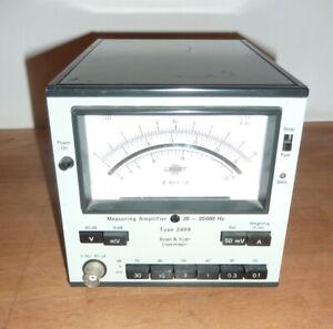 B&K Measuring Amplifier Type 2609 Brüel & Kjaer