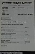 Telefunken Service Manual Schaltplan: Telefunken RC 990 CD 101.541.60 ohne Subw