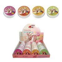 Lingettes dissolvant  parfums fruits 30 disques  boite très pratique YES LOVE