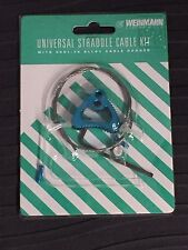 WEINMAN UNIVERSAL STRADDLE  CABLE KIT**BLUE** 6061**T6 Alloy**NOS**SET OF 2