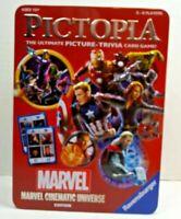 Marvel Pictopia Trivia Card Game  Ravensburger New in 3D tin