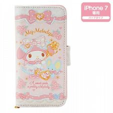 New! My Melody iPhone 7 Fold Case Cover Fairy Tale Dome Kawaii Sanrio f/s Japan