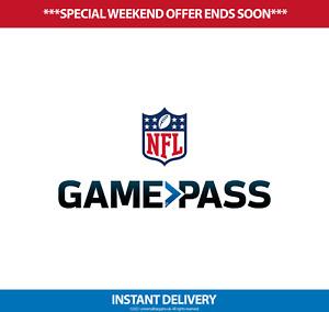 NFL Game Pass Pro - 2021-2022 Full Season Access - International/EU
