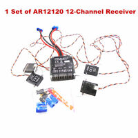 AR12120 2.4G 12 Channel Power Safe Receiver for SPMAR12120 with 4pcs Satellites