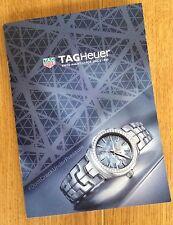 Tag Heuer Link Lady Watch Mini Catalogue / Brochure 2016