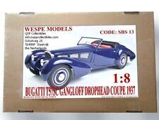 Wespe Models, Kit Bugatti T57SC Gangloff Drophead Coupé 1937 1:8