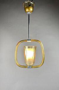 Art Deco Deckenlampe Mid Century Ceiling Light Fixture Hanging Lamp Pendellampe
