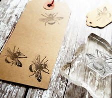 Bumble Bee Honey Bee rubber stamp