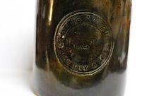 Pair Vintage 1950s Kerryl Melbourne IXL Cranberry Sauce Ceramic Jam Factory Jars