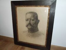 WW1 / WW2 PAUL VON HINDENBURG DRAWING