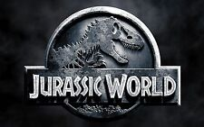 "JURASSIC WORLD Pair Of VEHICLE BIG DOOR DECAL/Stickers 12""x16"""