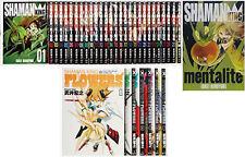 3-7 Days to USA UPS. Shaman king 1-27+FLOWERS 1-6+Official Guide Set Japan Manga
