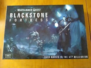 Warhammer 40K - Warhammer Quest Blackstone Fortress Box Set NO MINI FIGURES