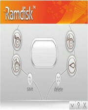 GiliSoft Ramdisk , Have a virtual RAM disk  on your Desktop PC , 1 PC Lifetime