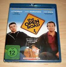 Blu-Ray Disc - The Open Road - Jeff Bridges - Justin Timberlake - Blue Neu OVP