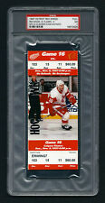 PSA 7 VLADIMIR KONSTANTINOV Unused NHL Ticket for the Flames at the Red Wings