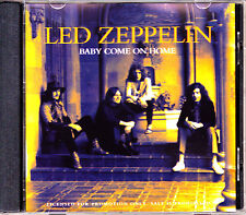 CD SINGLE promo LED ZEPPELIN baby come on home GERMANY 1993 PROMOTIONAL