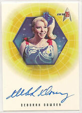 Star Trek 35th Anniversary TOS Autograph Card A18 Deborah Downey