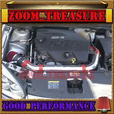 RED 2006-2009/06-09 CHEVY MALIBU/PONTIAC G6 3.9 3.9L V6 FULL AIR INTAKE KIT