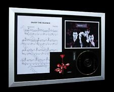 DEPECHE MODE Enjoy Silence LTD TOP QUALITY CD FRAMED DISPLAY+EXPRESS GLOBAL SHIP