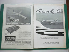 4/1966 PUB SUD AVIATION AVION CARAVELLE 10R AIRLINER UTA AIRLINE / BOAC VC10 AD