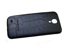Samsung Galaxy S4 KROKO AKKU DECKEL BACK COVER LEDER COVER HÜLLE+ Schutzfolie